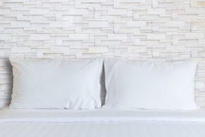 Continental Bedding P550-2-K White Goose Down Luxury Pillow