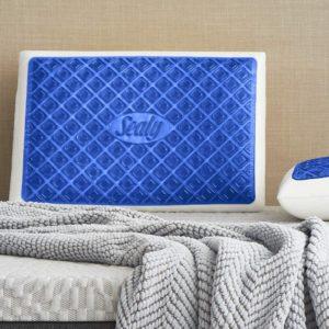 Sealy Blue Chill Gel Memory Foam Pillow